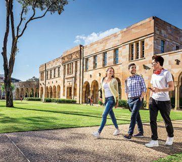 بورسیه دانشگاه کوئینزلند