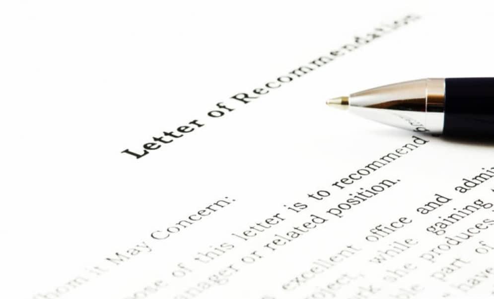 توصیه نامه