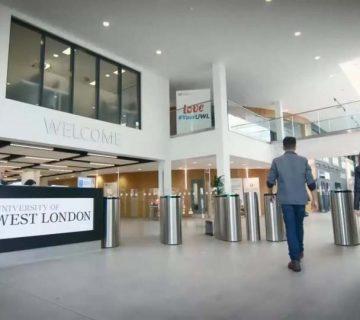 بورسیه دانشگاه غرب لندن