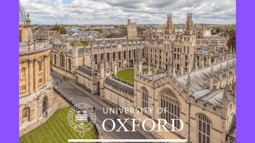 تحصيل در دانشگاه آکسفورد