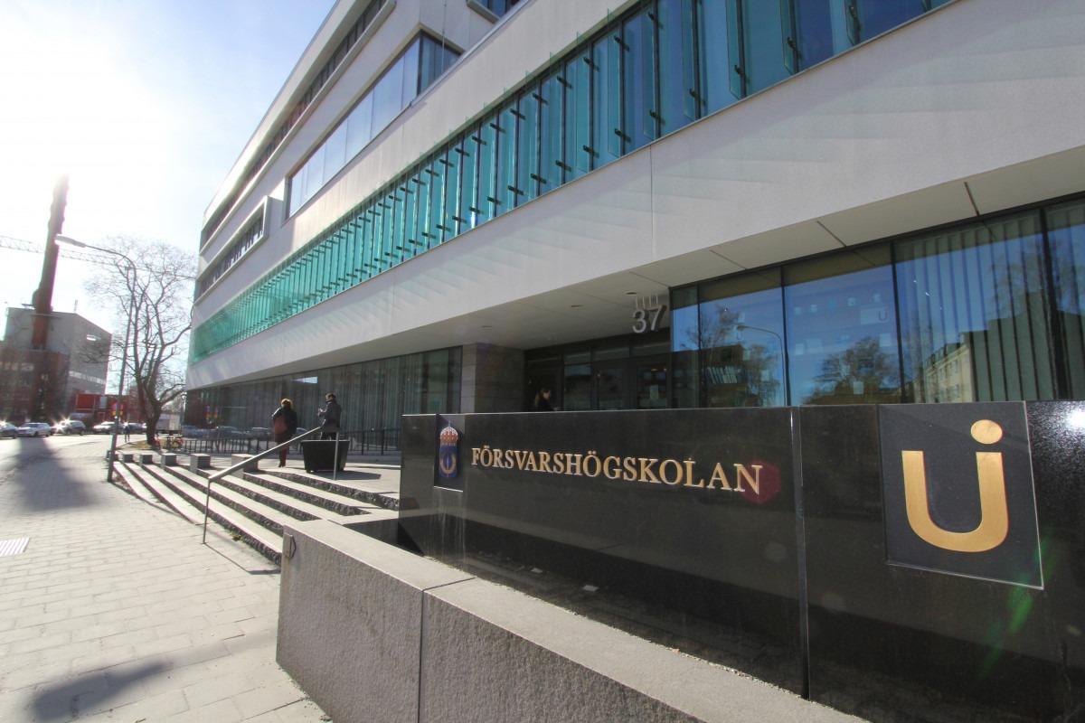 بورسیه دانشگاه دفاع سوئد