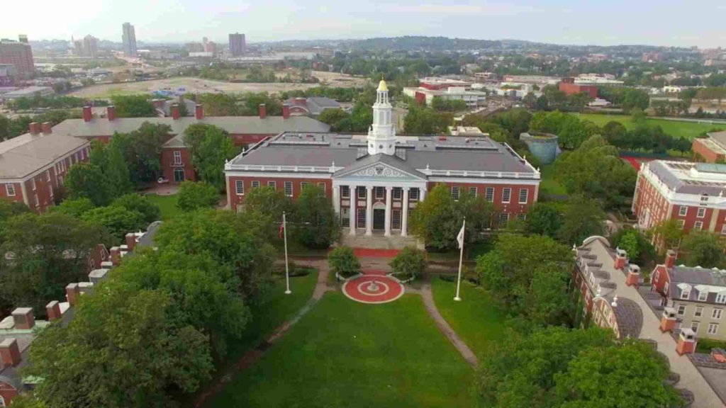 بورسیه دانشگاه هاروارد