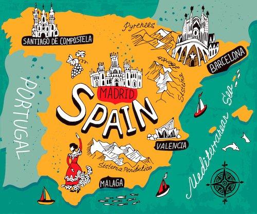 بورسیه تحصیل در اسپانیا