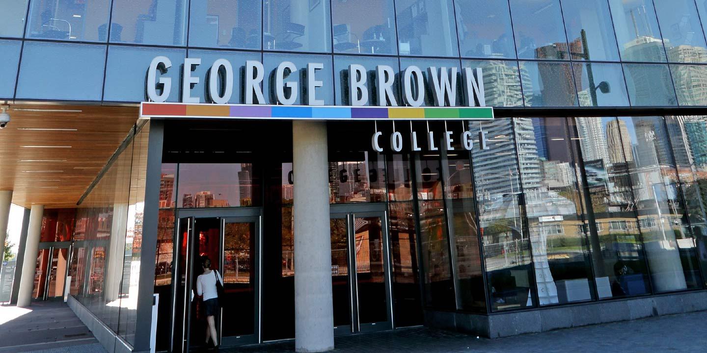 بورسیه کالج جورج براون
